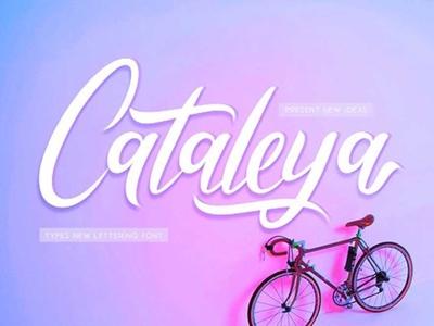 Cataleya - Free Calligraphy Font