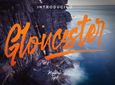 Gloucester Free Brush Font