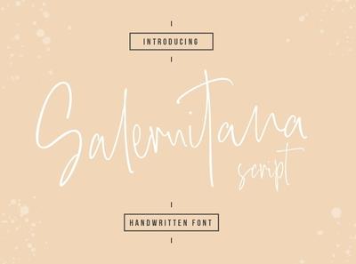 Salernitana Free Script Font
