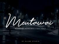 Mentawai - Free Signature Font