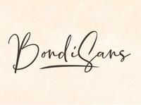BondiSans Free Script Font