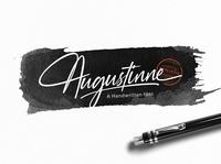 Augustinne Free Handwritten Font