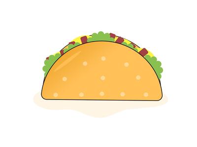 Flat Food Illustrations :)