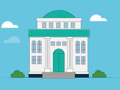 Illustration - Office Building