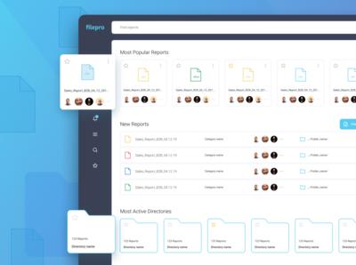 Filepro Dashboard
