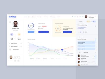 Online school paltform concept design