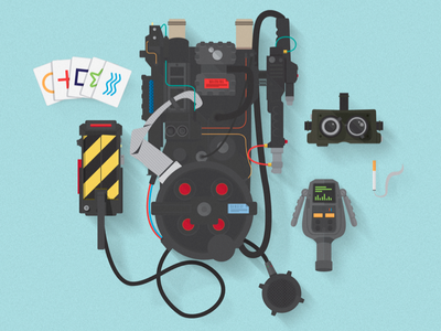 Ghostbuster Essentials Print