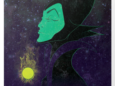 Maleficent Print movie poster print disney maleficent snow white design