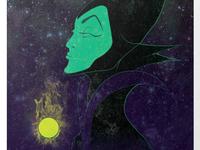 Maleficent Print