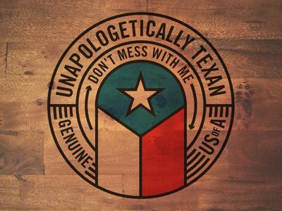 Texas Round badge Skillshare Project wood bold thick lines fun texas badge circle ddc draplin aaron draplin skillshare