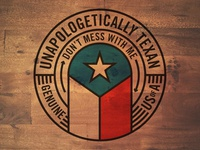 Texas Round badge Skillshare Project