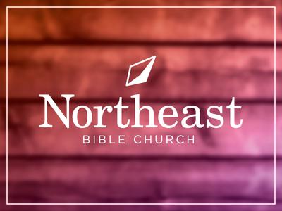 Northeast Bible Church mockup northeast branding church icon mark logo