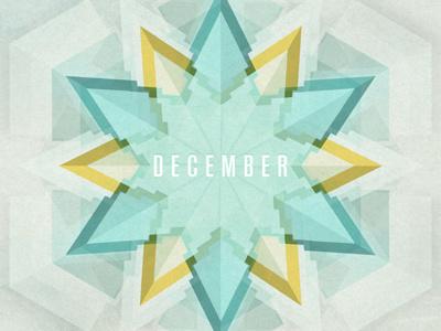 December 2011 Wallpaper wallpaper geometric design background grunge texture snow christmas flake abstract minimal