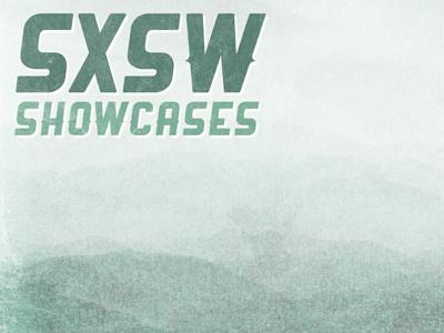 SXSW Poster poster print design music vintage gig sxsw texture grunge landscape typography