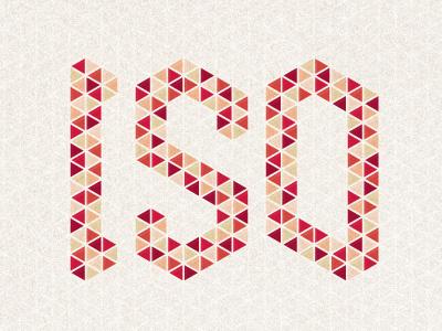 May 2012 Wallpaper wallpaper design geometric isometric triangle font type typography grunge grid digital