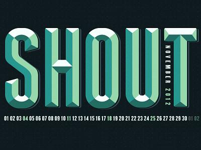 November 2012 Wallpaper design wallpaper type typography quote font illustration 3d vintage grunge texture calendar