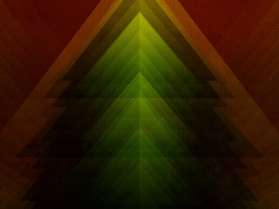 Christmas Special Gig Poster Background poster print geometric design tree christmas holidays triangle vintage grunge abstract dark background