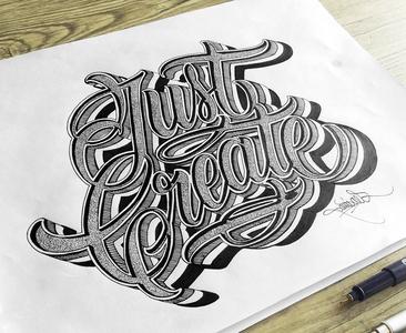 Just create...