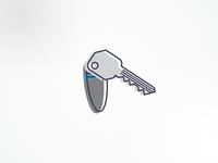 Key Fob Icon