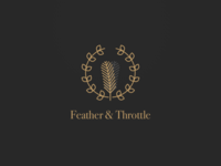 Feather & Throttle Branding