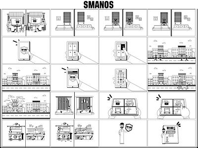 samanos story board art direction design artwork character design illustration arabian