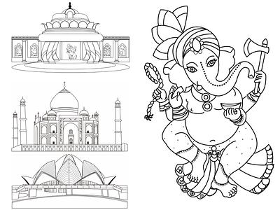 india storyboard india illustrator artboard design art direction character design character artwork illustration