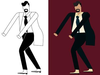 business ch  08 artwork design branding art direction artboard illustration business color palette character character design