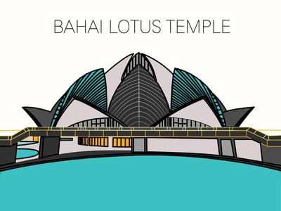 INDEA-BAHAI LOTUS TEMPLE