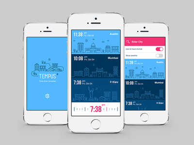 Tempus Time Zone Converter time convert city town app ios tempus day night weather iphone world