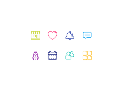 Icon Set for Kids