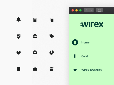 Wirex Icons