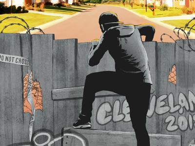 Cleveland Magazine editorial illustration editorial rob dobi cleveland magazine