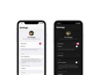 ChibiStudio settings screen