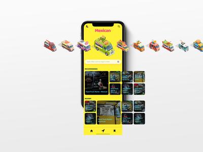 Mobile Food App