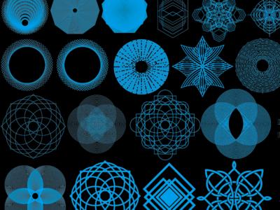 Geo Pattern Vector Set