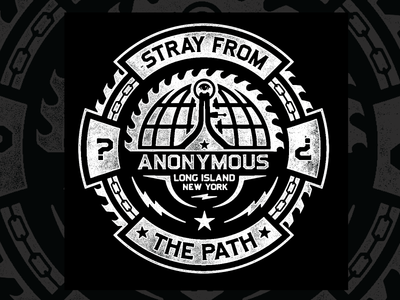 World Wide Domination  stray from the path saw fraternity anonymous new york band tee illuminati