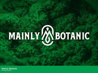 Mainly Botanic Concept dispensary weed pot plant maine design branding nick beaulieu district north design new hampshire