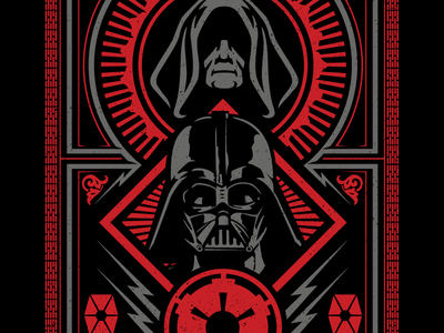 I am the master now.  palpatine sith lord darth vader
