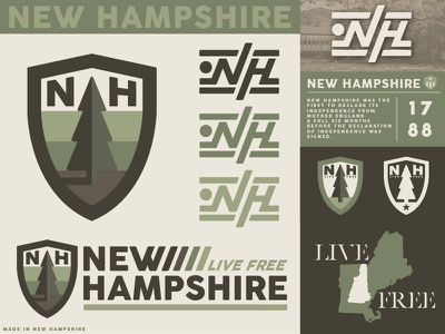 New Hampshire Branding http:www.districtnorthdesign.com district north design district north north east ne nh life free new england forest tree branding new hampshire