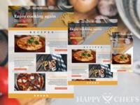 Happy Chefs Web Design