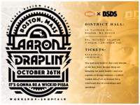 Draplin Event in Boston