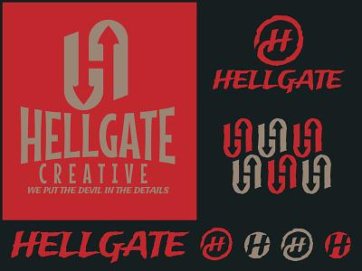 Hellgate Creative design illustration branding nick beaulieu district north design http:www.districtnorthdesign.com