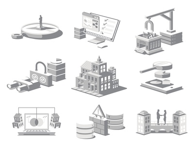 Grayscale Icons