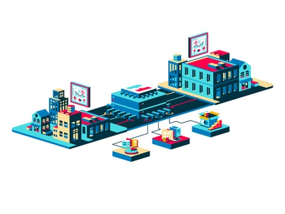 Partners isometric web icon app vector ux illustration district north design nick beaulieu http:www.districtnorthdesign.com new hampshire