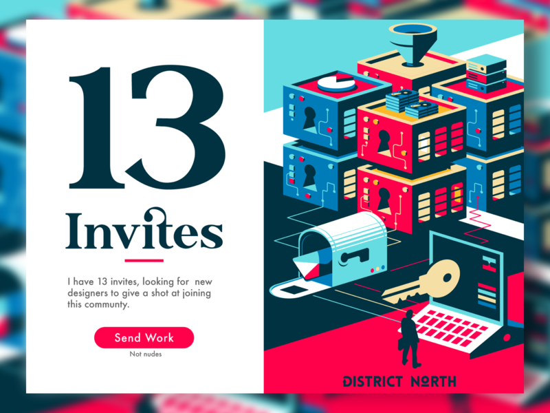 13 Invites: Come and get um invites giveaway invites district north design nick beaulieu http:www.districtnorthdesign.com new hampshire
