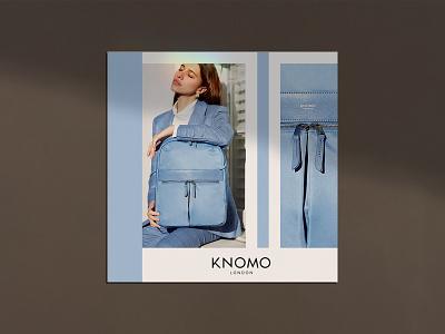 Knomo Advert Poster bags fashion design advertising