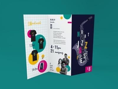 Official brochure Nort Jazz Festival 2018