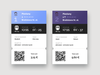 Train ticket redesign
