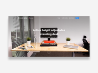 Activedesk landing page