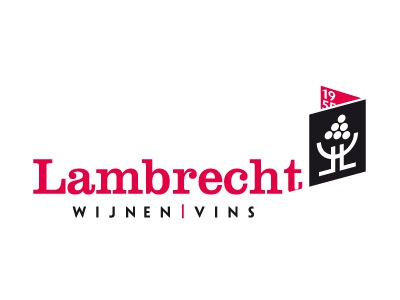Lambrecht Wine wine red black logo branding